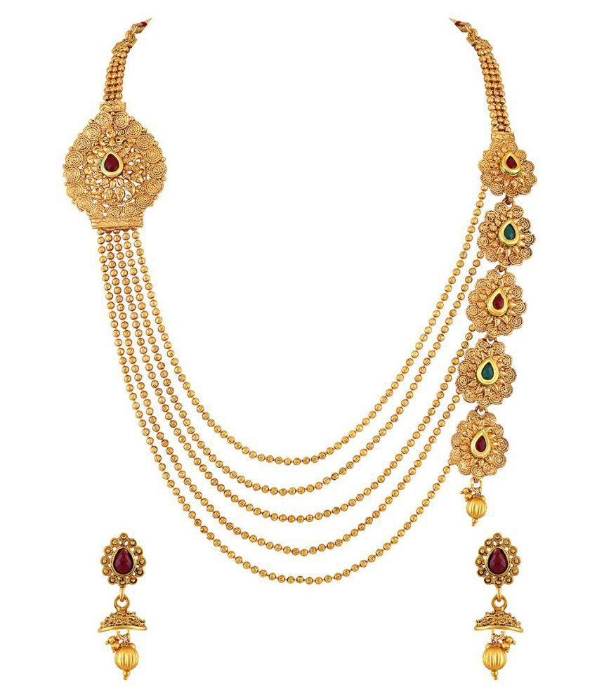 49e636e502e9a Asmitta Jewellery Necklaces Set