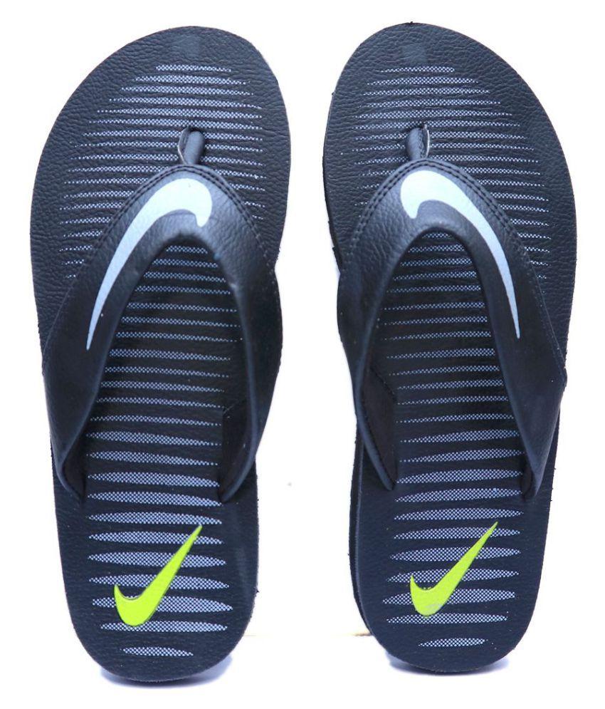 new style 96321 78557 Nike CHROMA Black Thong Flip Flop Nike CHROMA Black Thong Flip Flop ...