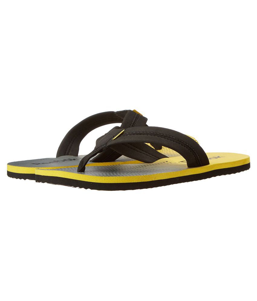 f946a9279 Reebok Yellow Thong Flip Flop Price in India- Buy Reebok Yellow Thong Flip  Flop Online at Snapdeal