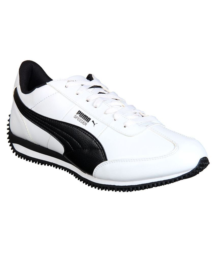 Puma Velocity IDP White Casual Shoes