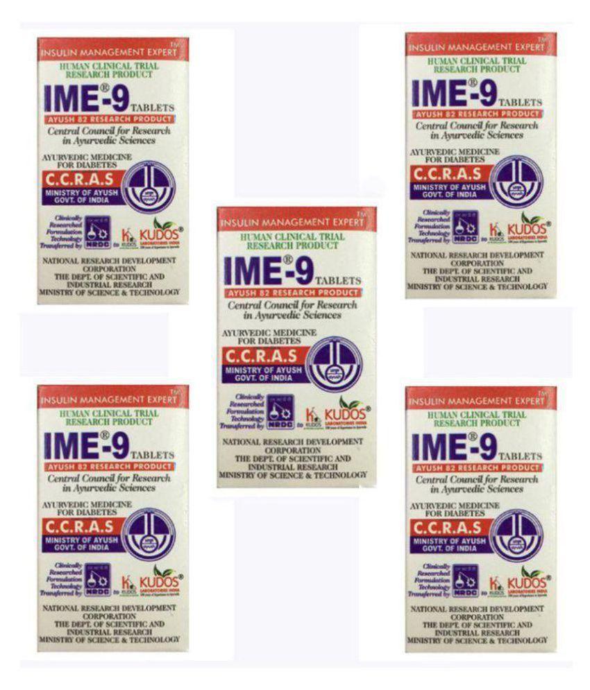 Kudos Ayurveda IME-9 Tablets 300 no.s