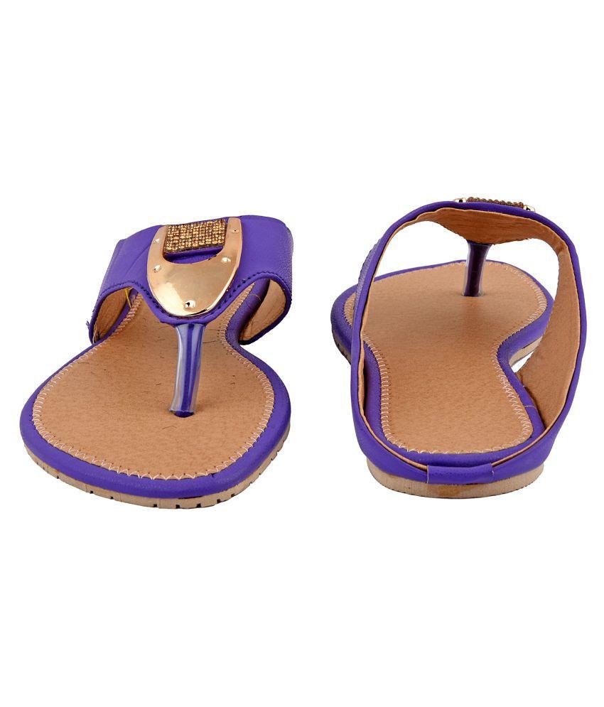Mochdi Blue Ethnic Footwear