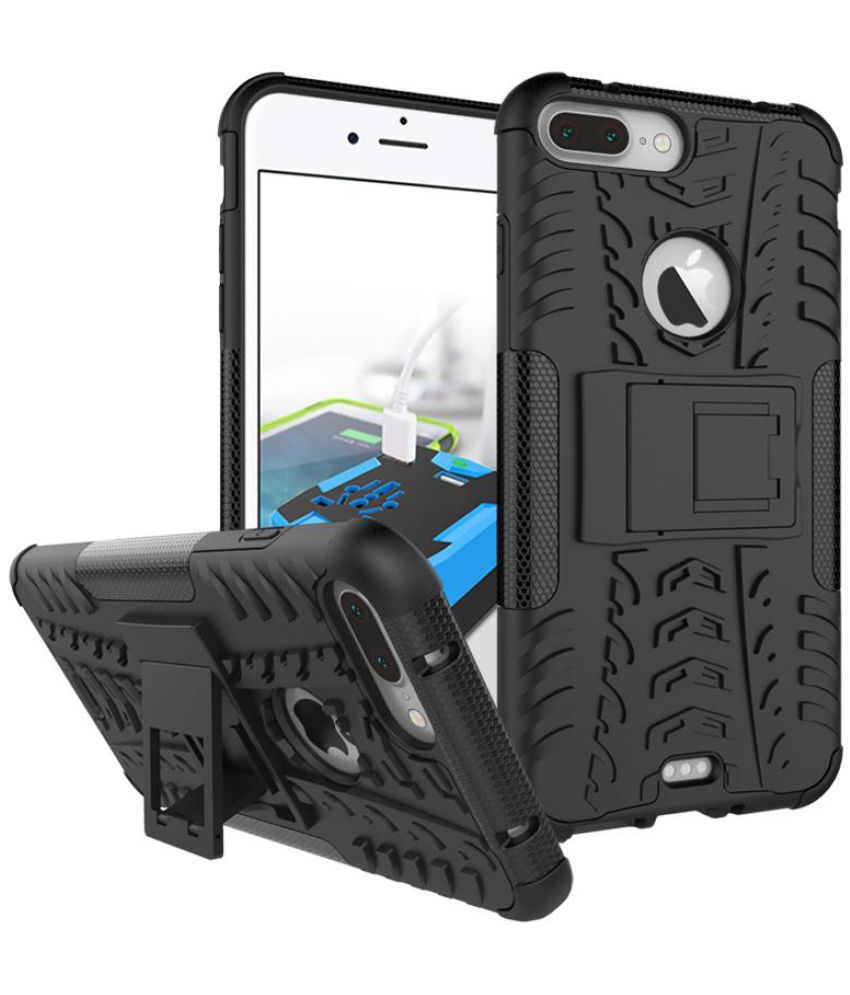 iPhone 7 Plus Shock Proof Case JKR - Black