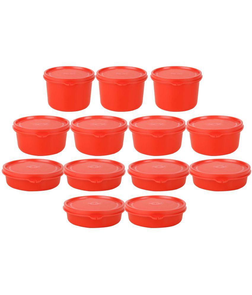 GreenViji Polyproplene Food Container Set of 11-20