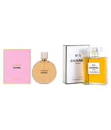 CHANEL COMBO OF CHANCE AND N5 (100ML Each)