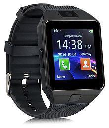 WDS Dz09 Smartwatch Suited Asus ZenFone 4 Pro - Black Smart Watches