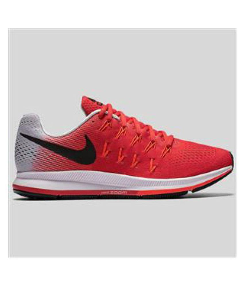 new style 5daef 48587 Nike AIR ZOOM PEGASUS 33 Red Running Shoes - Buy Nike AIR ZOOM PEGASUS 33  Red Running Shoes Online at Best Prices in India on Snapdeal