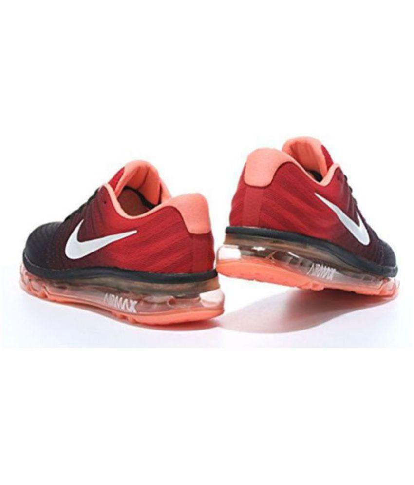 Nike AIRMAX 2017 ALL COLOUR Orange Running Shoes - Buy Nike AIRMAX ... 1d5476d607bb