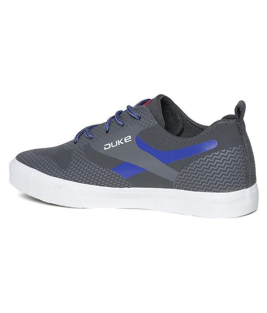 Duke Sneakers Gray Casual Shoes - Buy