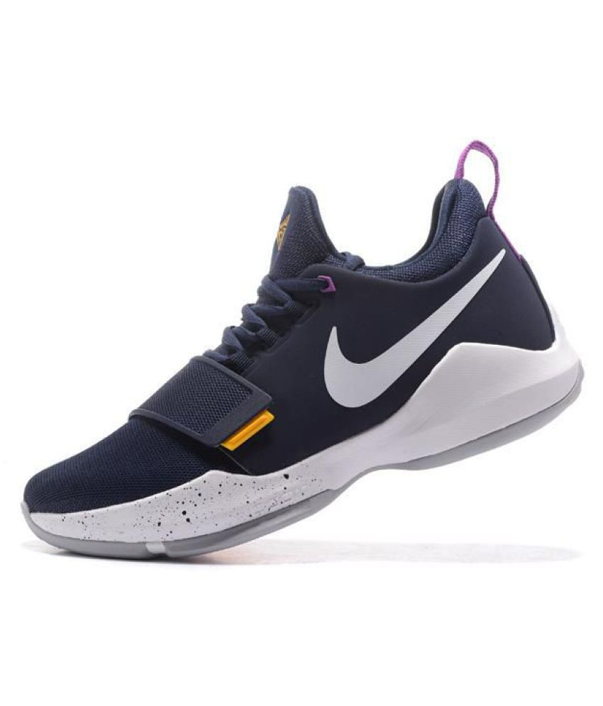 aad602265288 Nike PG 1 PAUL Navy Basketball Shoes - Buy Nike PG 1 PAUL Navy Basketball  Shoes Online at Best Prices in India on Snapdeal