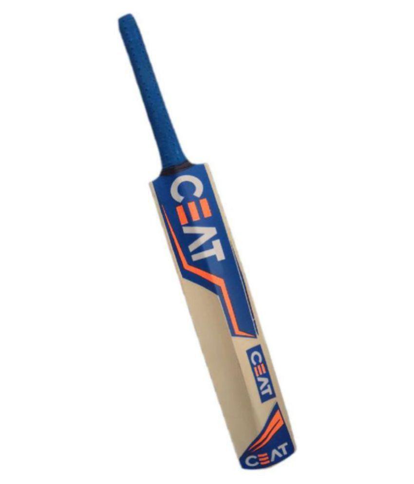 MDN Kelvin CEAT Tennis Ball Poplar Willow - Cricket Bat: Buy Online