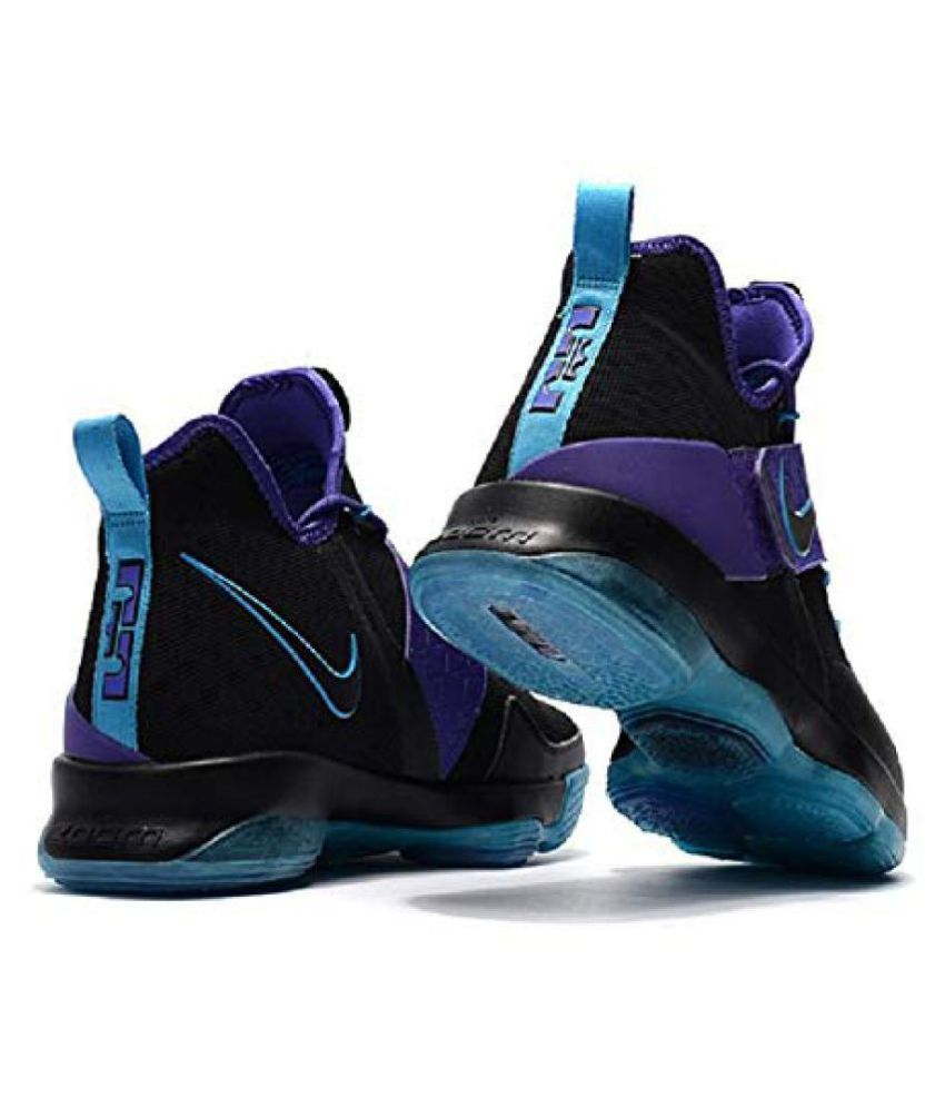 71833a661823 Nike LEBRON 14 Black Basketball Shoes Nike LEBRON 14 Black Basketball Shoes  ...