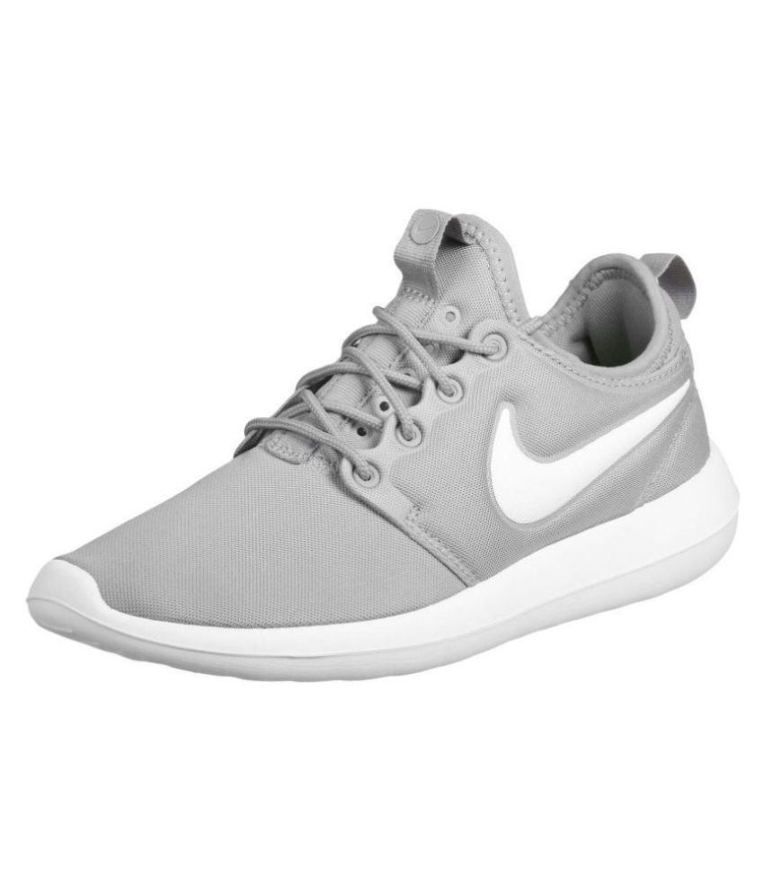 08c664d18d493 Nike Roshe Two Grey Running Shoes - Buy Nike Roshe Two Grey Running Shoes  Online at Best Prices in India on Snapdeal