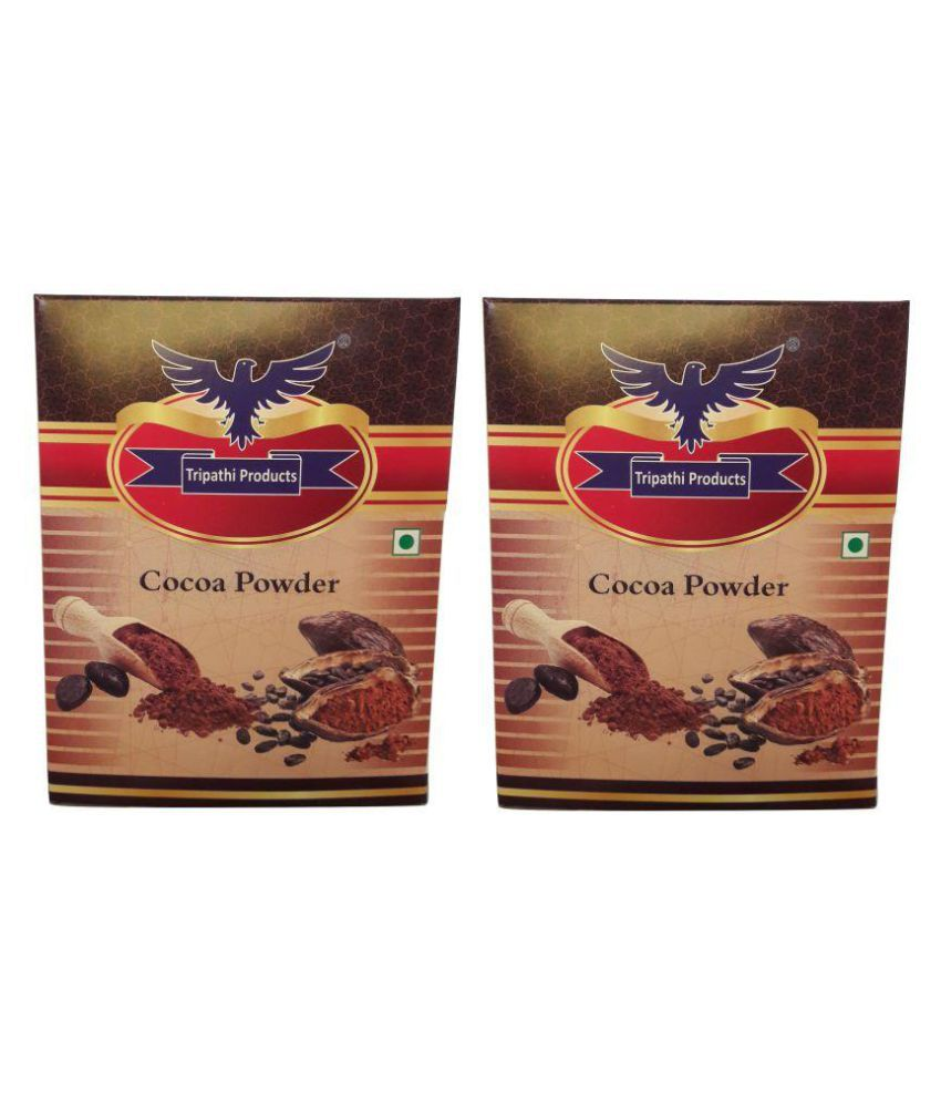 Tripathi Products Dutch Cocoa Powder 100 gm Pack of 2