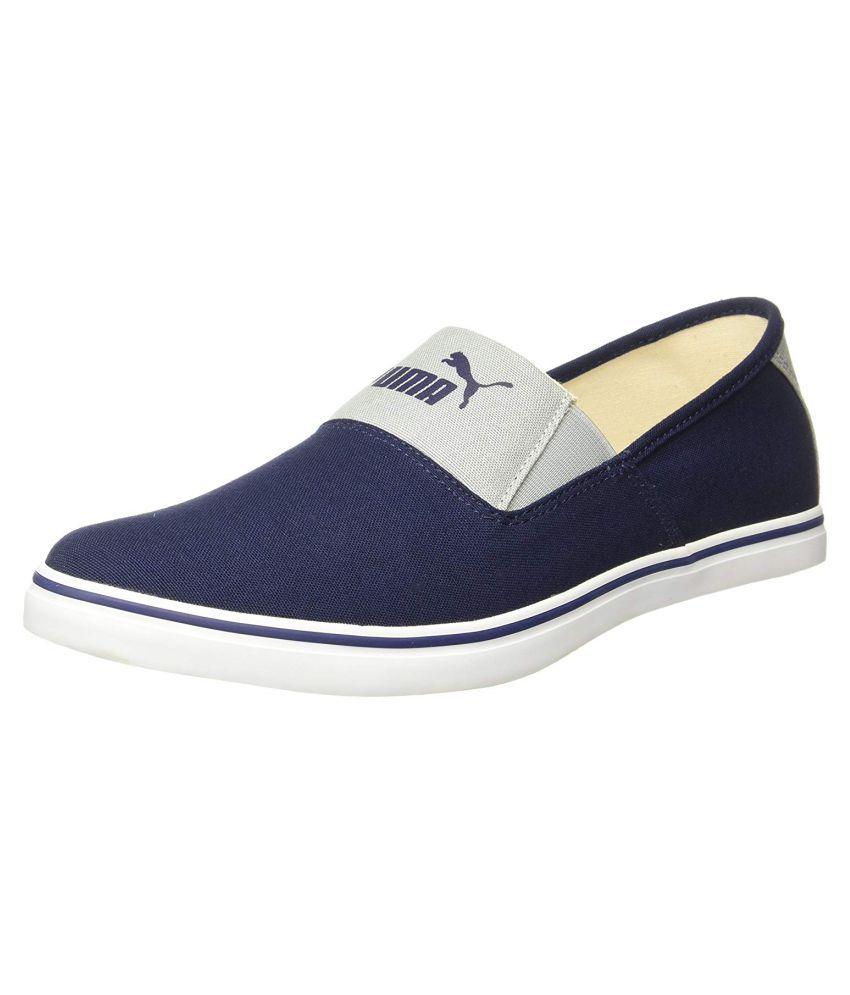 Puma Blue Loafers - Buy Puma Blue