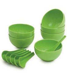 Kitchen Hub 12 Pcs Round Shape Microwave Safe Soup Bowls Set - 100 ML Each