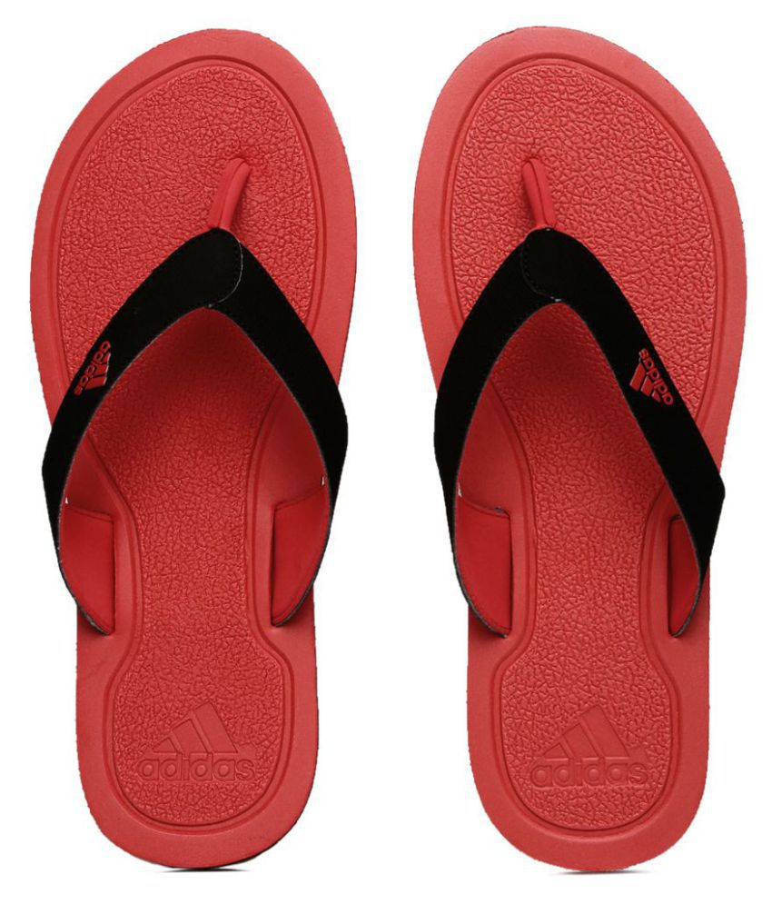 c58befd59e0 Adidas Red Thong Flip Flop Price in India- Buy Adidas Red Thong Flip Flop  Online at Snapdeal