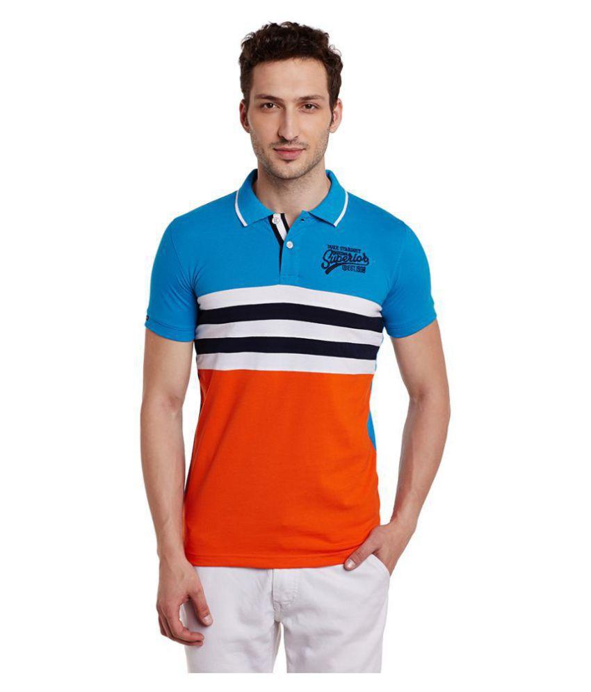 Duke Multi Slim Fit Polo T Shirt