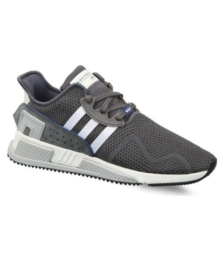 check out fea0f 6d0ee Adidas EQT CUSHION ADV Gray Running Shoes