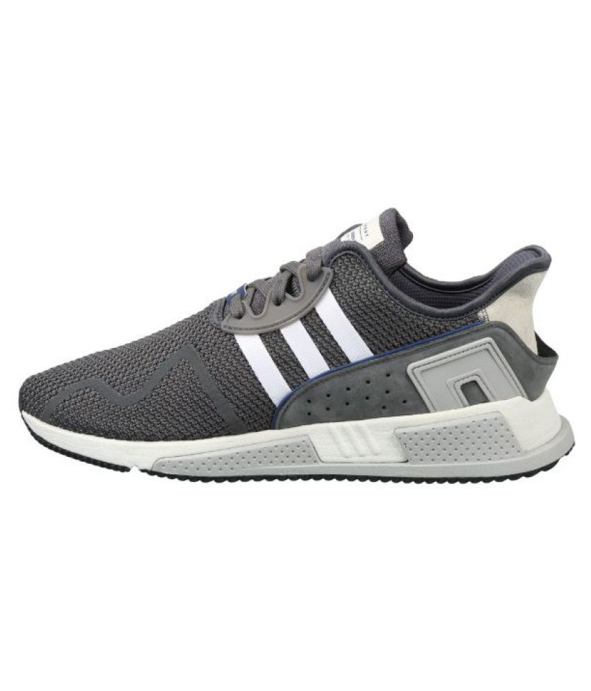 check out ff491 abd2c Adidas EQT CUSHION ADV Gray Running Shoes