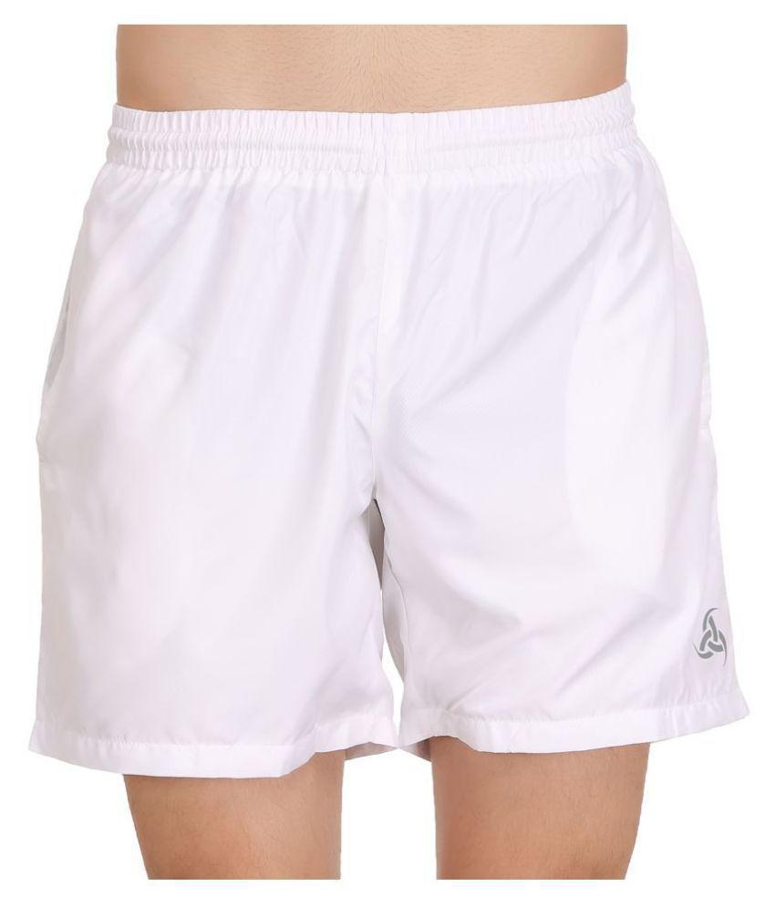 Exalon White Shorts