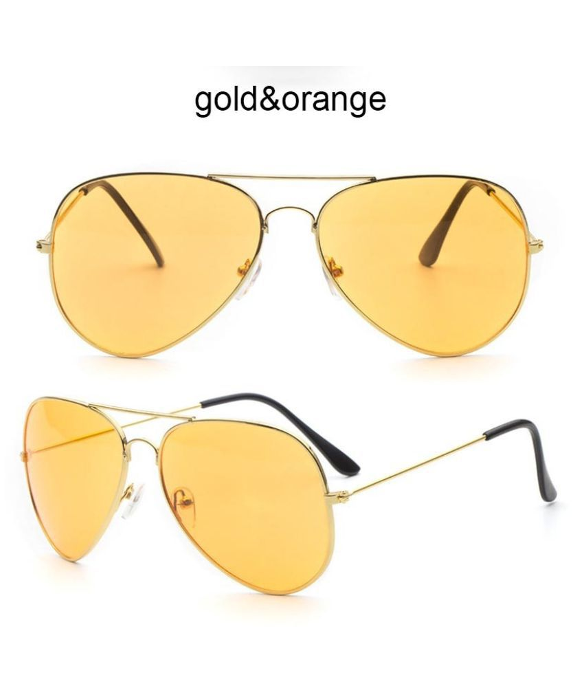 Swagger Fashion Unisex Avitor Sunglasses Classic Metal Frame Ocean Colorful Lens Outdoor Eyeglasses Sold by ZXG