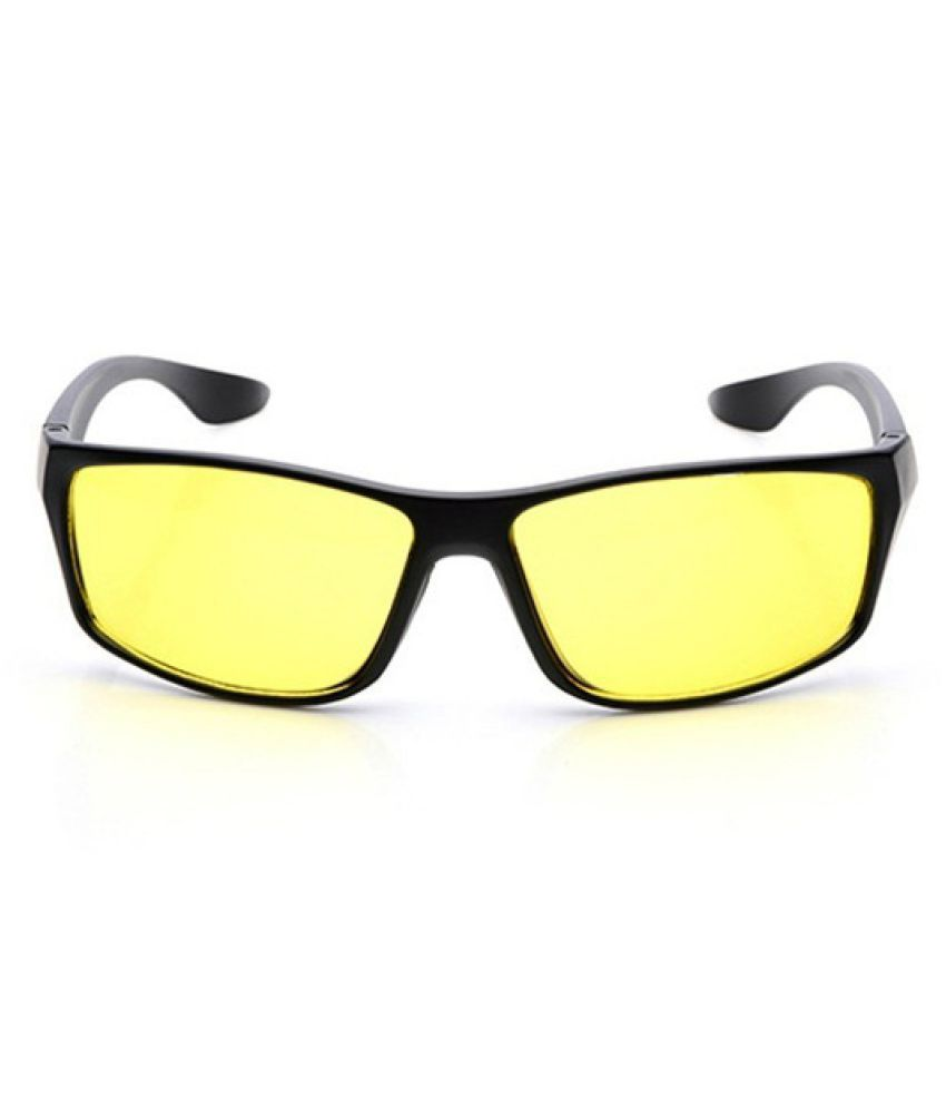 Swagger Night Driving Anti Glare Vision HD Glasses Prevention Yellow Driver Sunglasses ebay300/w053 Sold by ZXG