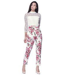 8c8562dc27bb White Jumpsuits  Buy White Jumpsuits for Women Online on Snapdeal.com