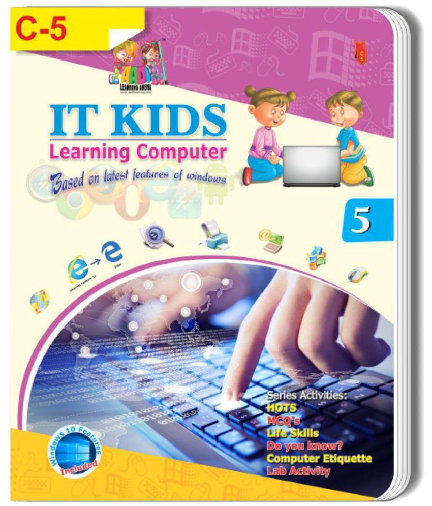 BOOK OF CLASS-5th - C-5. IT KIDS Learning Computer