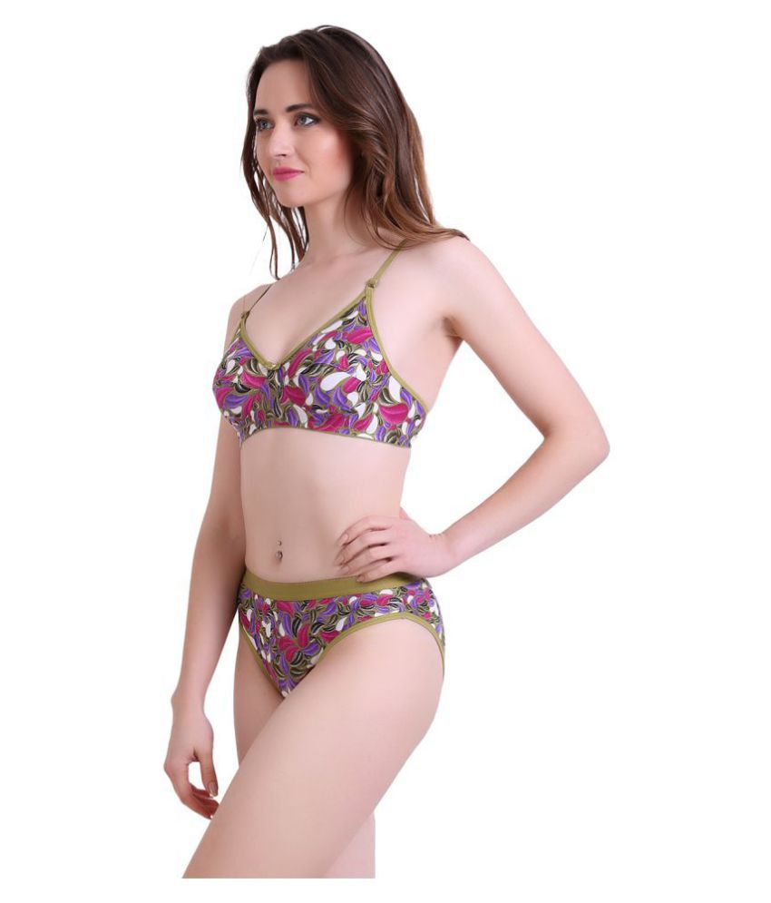 cf0a5e99f33 Buy Tace Lycra Bra and Panty Set Online at Best Prices in India ...