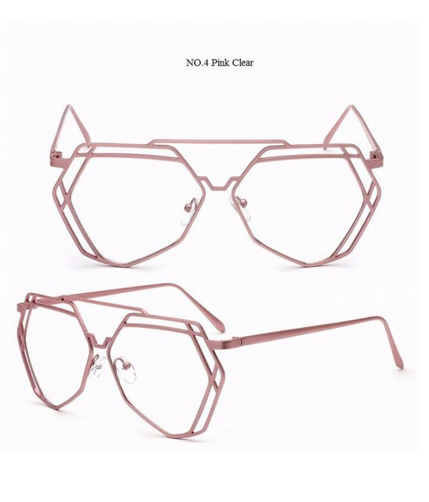 Swagger Retro Hollow Party Beach Goggles Clear Anti Reflective Lenses Plain Computer Glasses Eyewear Sunglass Sold by ZXG