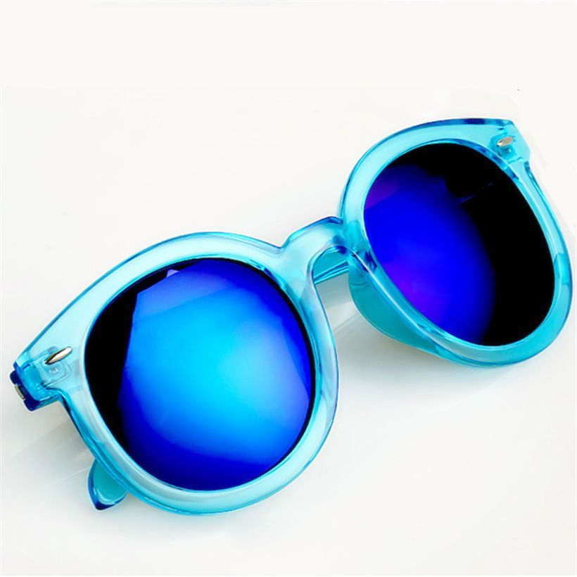 Swagger Oversized Mirrored Vintage Women Sunglasses Brand Retro Female Sun Glasses Sold by ZXG