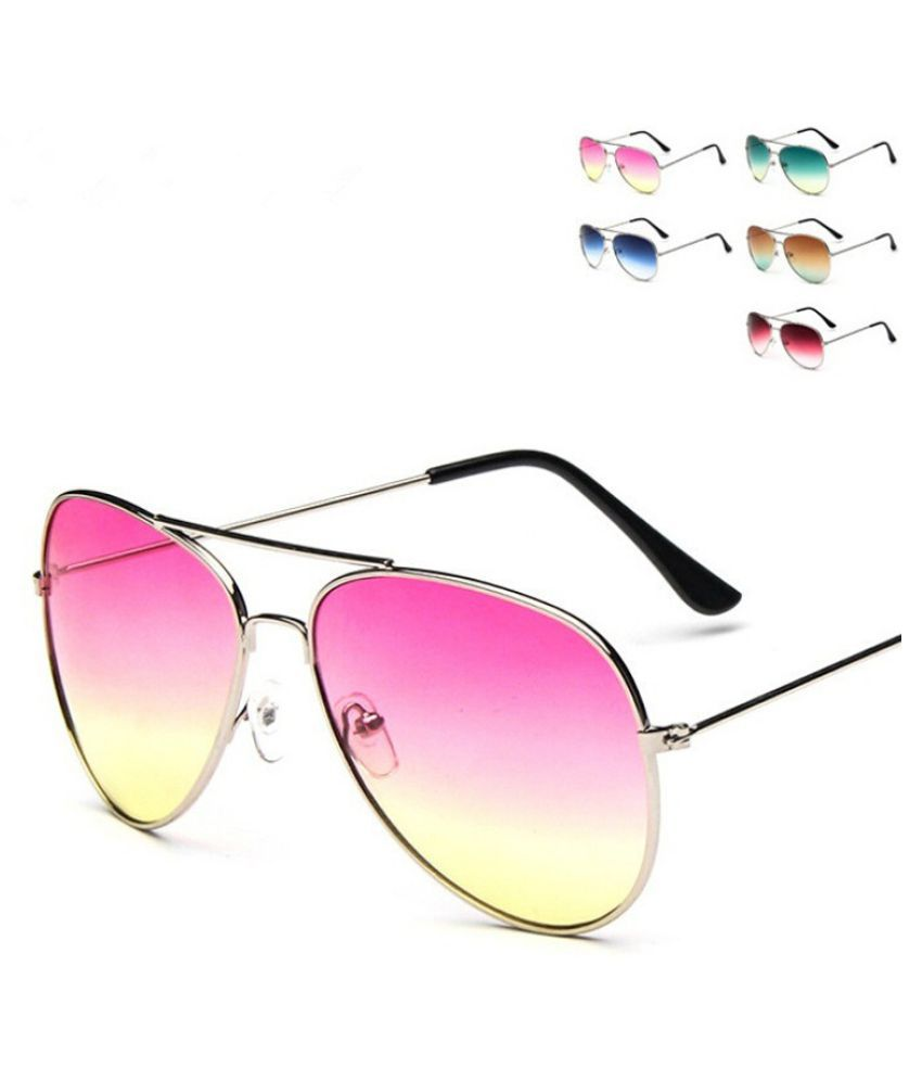 Swagger Unisex Gradient Sunglasses Fun and Fashionable Look! Sold by ZXG