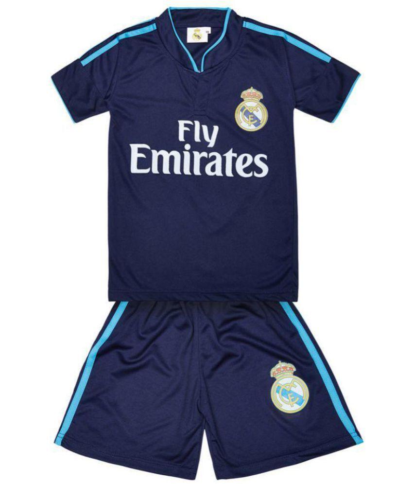 1d091728 Replica Real Madrid Ronaldo 7 KIDS Football Jersey - Dark Blue
