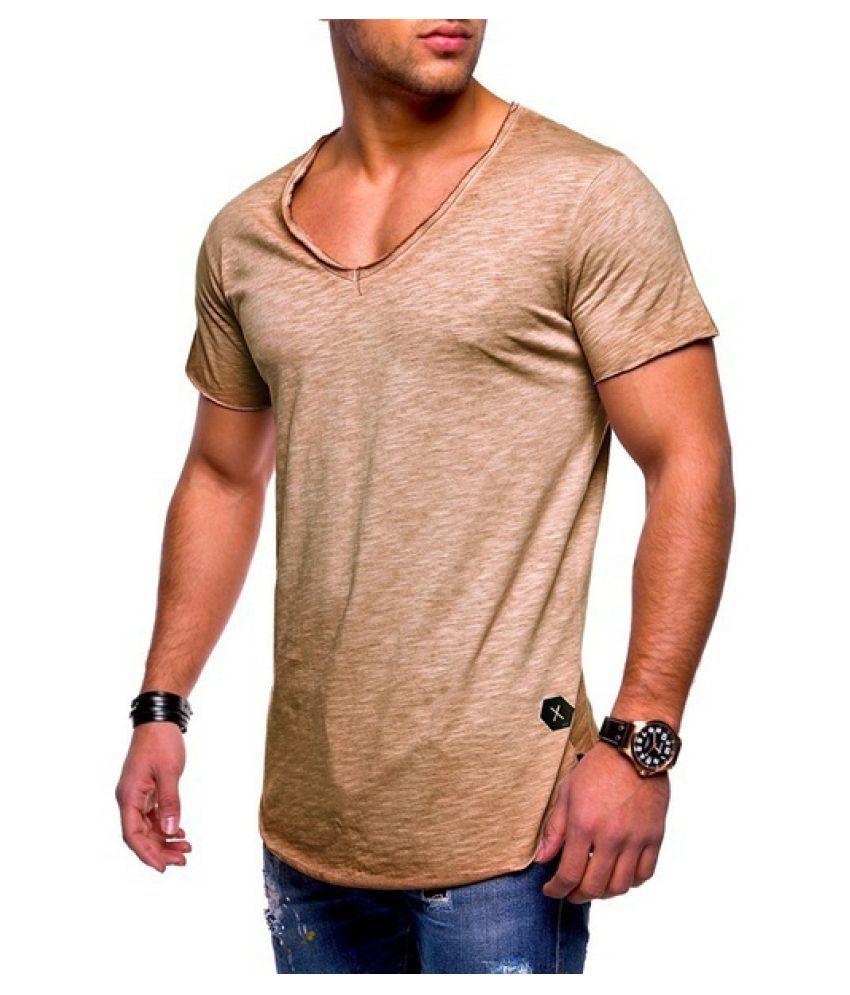 Changing Destiny Yellow Cotton T-Shirt Single Pack