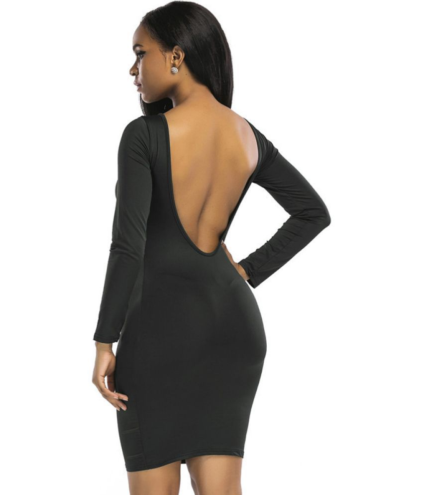 Kamalife Polyester Multi Color Regular Dress