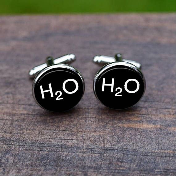 Kamalife Fashion White Alloy Letter Gem Cufflinks&Buttons Jewellery Accessories Gift