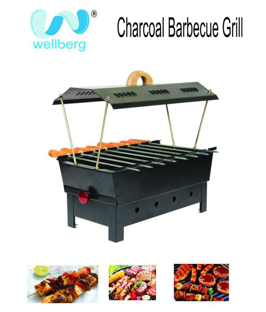 69e50d34109 Wellberg NA Charcoal Barbeque Price in India - Buy Wellberg NA Charcoal  Barbeque Online on Snapdeal