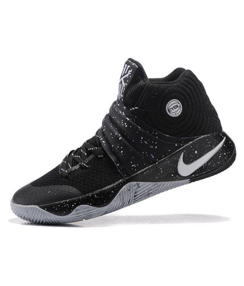17d7287f6b196 Nike Kyrie 2 EYBL Black Basketball Shoes - Buy Nike Kyrie 2 EYBL ...