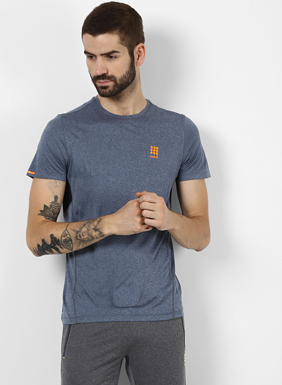 Rock.it Navy Half Sleeve T-Shirt Pack of 1