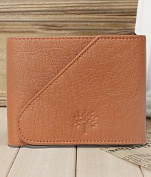 Woodland Leather Tan Casual Regular Wallet
