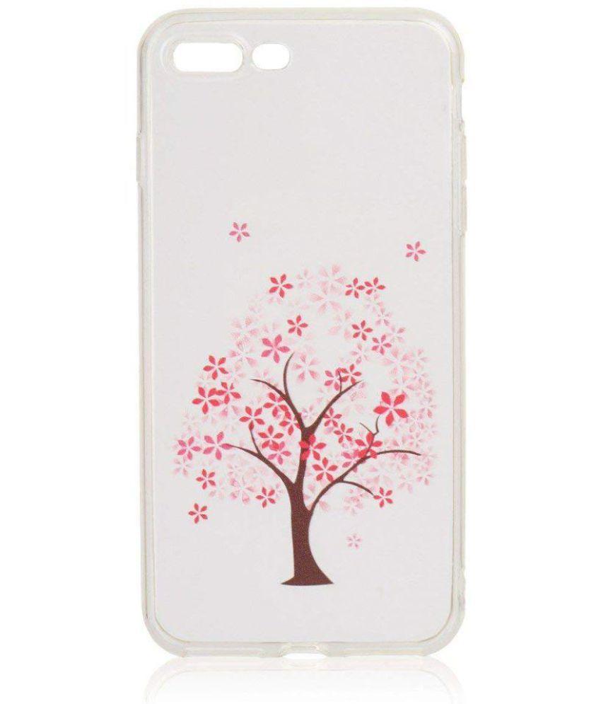 Apple Iphone 8 Plus Plain Cases KolorFish - Transparent