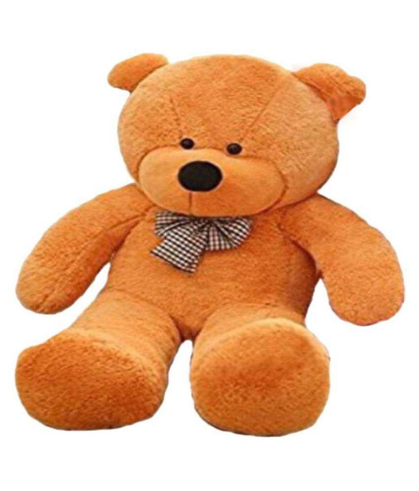 jiokard 5 feet teddy bear best teddy jumbo 152cm  brown
