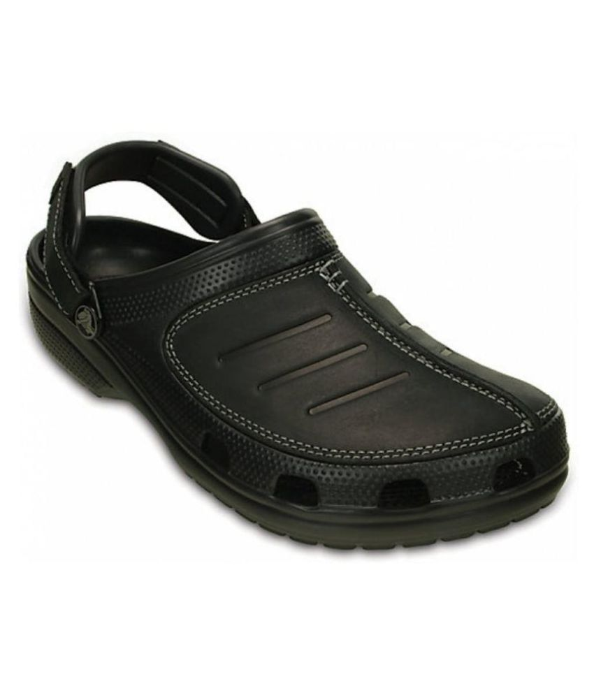 15790524d Crocs Yukon Mesa Men Clog Black Croslite Sandals Price in India- Buy Crocs  Yukon Mesa Men Clog Black Croslite Sandals Online at Snapdeal