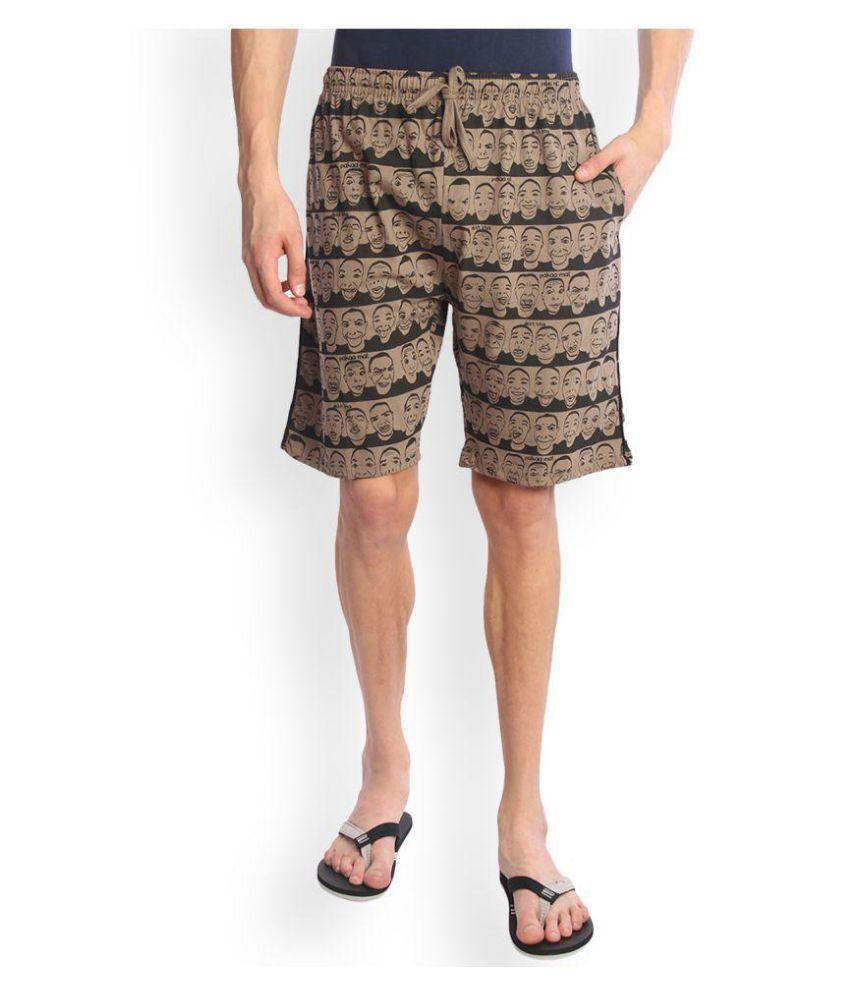 Tantra Brown Shorts