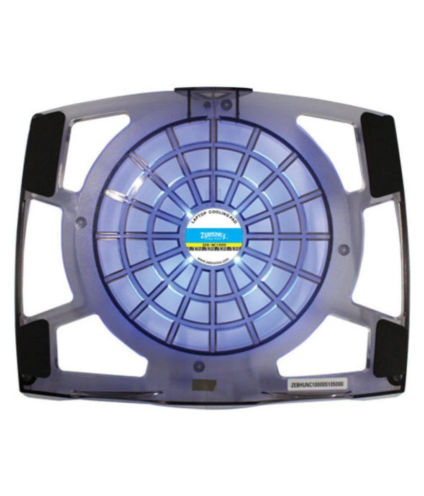 Zebronics Cooling Pad For Upto 381 Cm 15 Blue Buy Coolerpad Nc 32 Kipas Laptop
