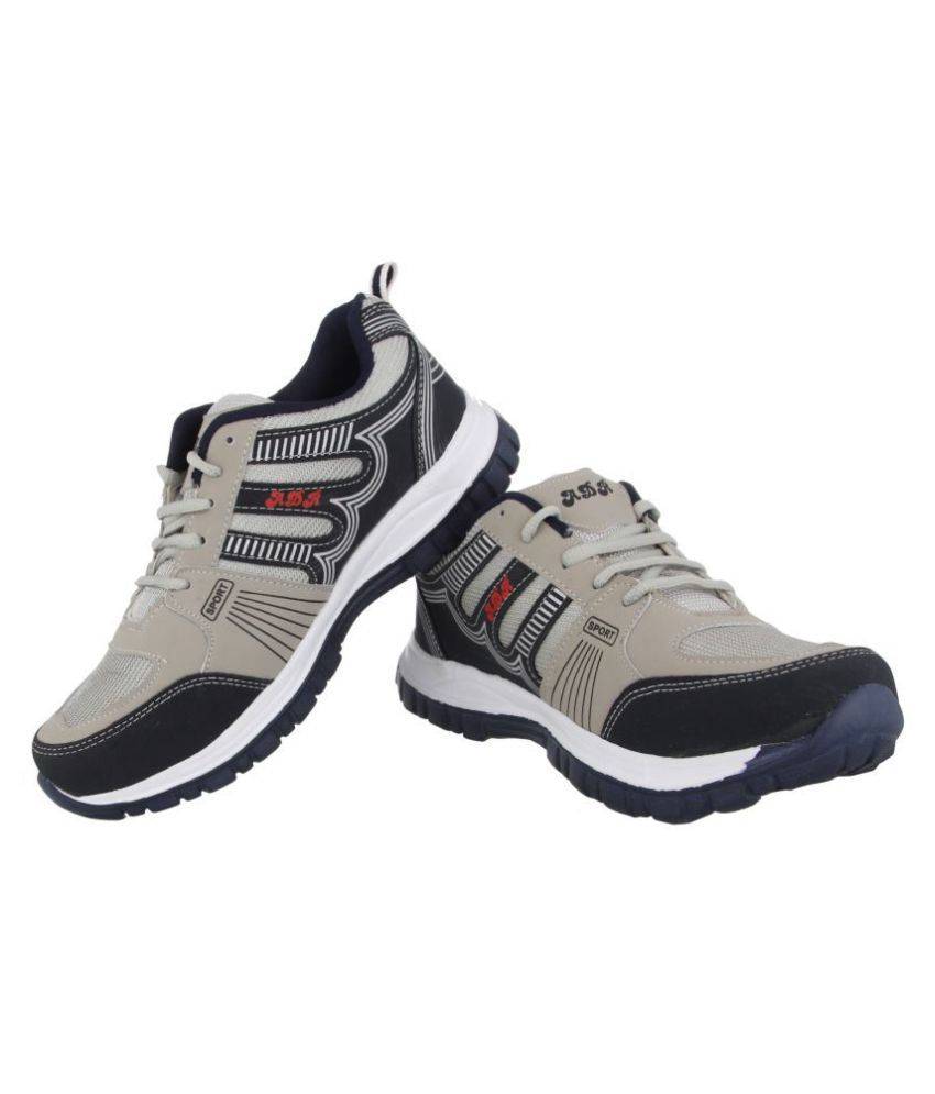 6cf6d4245dce4 ADR NA Gray Running Shoes - Buy ADR NA Gray Running Shoes Online at ...