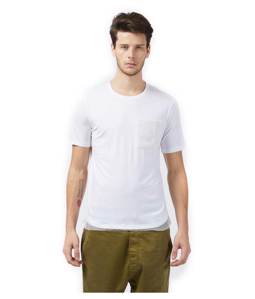 Good Stuff White Half Sleeve T-Shirt