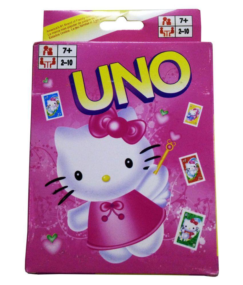 Hello Kitty Design Uno Cards