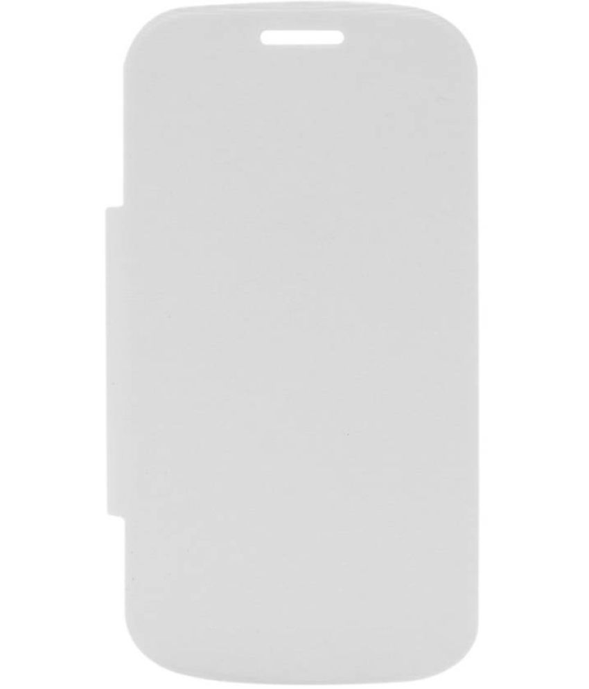 Nokia Lumia 620 Flip Cover by Shanice - White Flip Cover